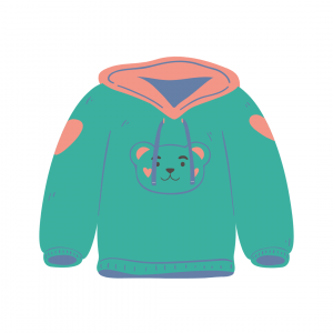 baby girls' hoodie